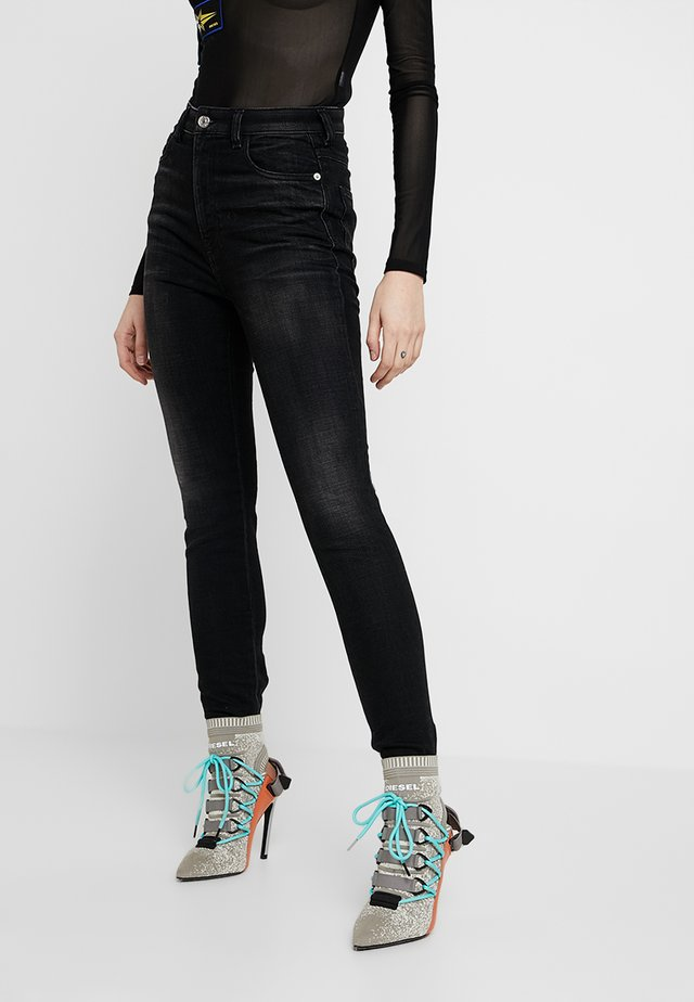 BABHILA HIGH - Jeans Skinny Fit - black
