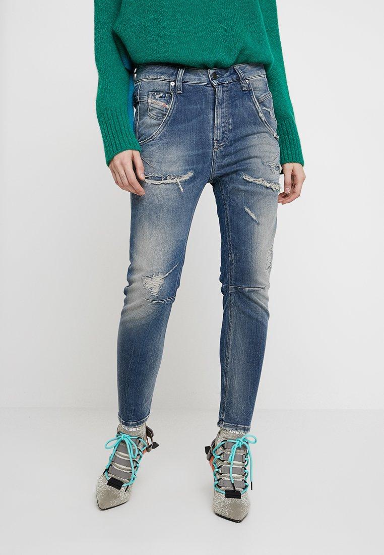 Diesel - FAYZA-T - Jeans Slim Fit - indigo