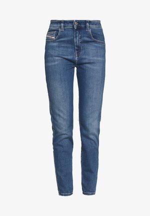 D-SLANDY-HIGH - Jeans Tapered Fit - blue denim
