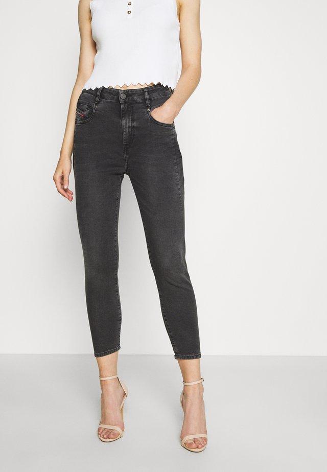 D-FAYZA-NE JOGGJEANS - Jeans Skinny Fit - dark grey