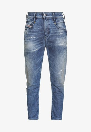 D-FAYZA-T JOGGJEANS - Slim fit -farkut - blue denim