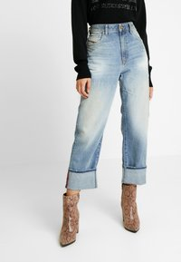 Diesel - REGGY - Jeansy Relaxed Fit - indigo - 0