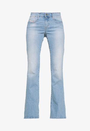 D-EBBEY - Flared jeans - blue denim