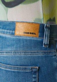 Diesel - D-ROISIN - Skinny džíny - blue denim - 5
