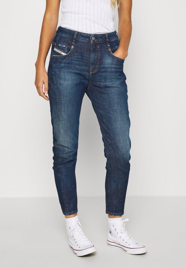 D-FAYZA - Jeans baggy - indigo
