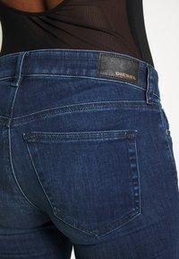 Diesel - SLANDY - Skinny džíny - blue denim - 4