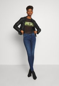 Diesel - SLANDY - Skinny džíny - blue denim - 1