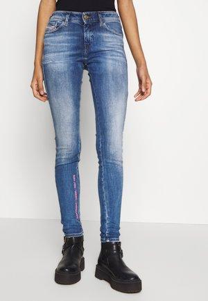 SLANDY - Skinny džíny - blue denim