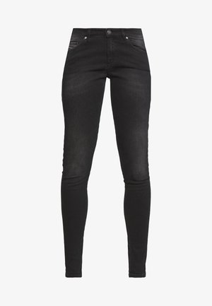 SLANDY - Skinny džíny - washed black