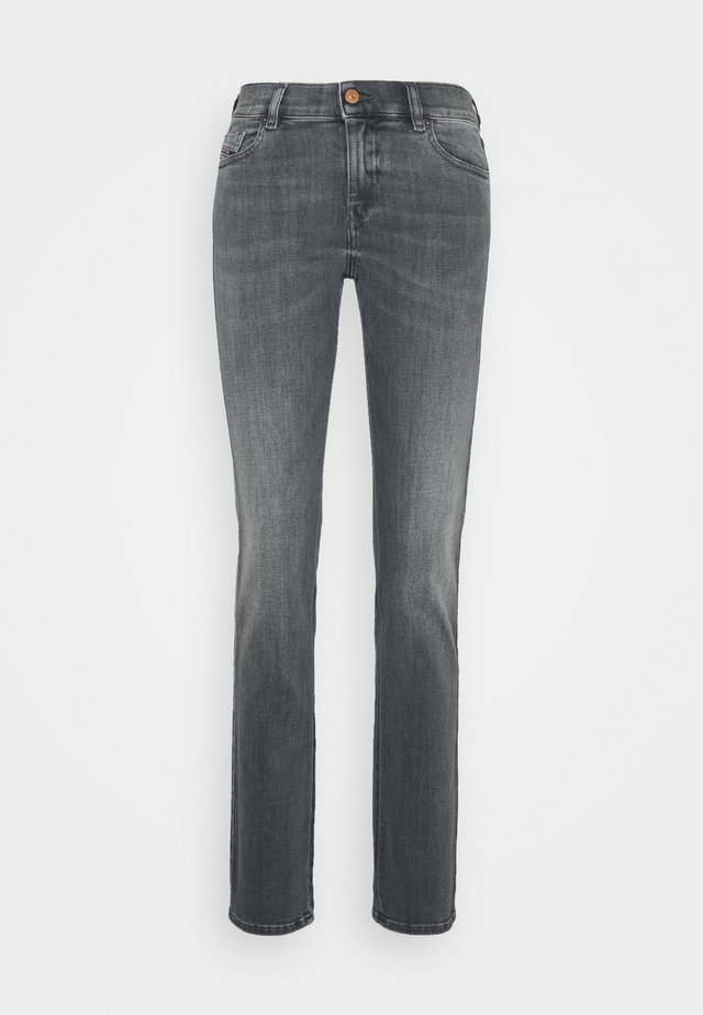 SANDY - Straight leg jeans - grey