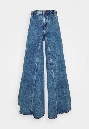 D-SPRITZZ - Flared Jeans - indigo
