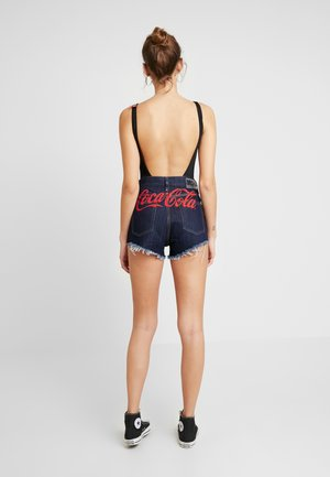 DIESEL X COCA-COLA - Denim shorts - indigo