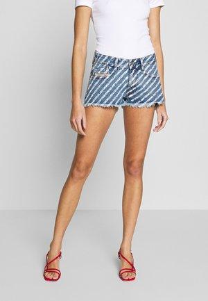 RIFTY - Denim shorts - blue denim