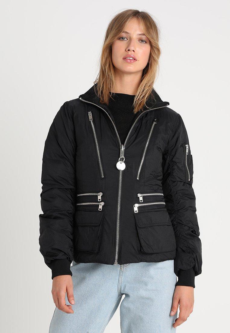 Diesel - W-BLANKYT - Down jacket - schwarz