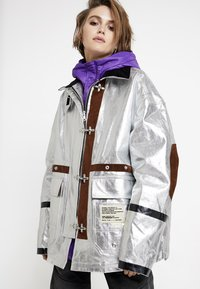 Diesel - W-GELYA GIACCA - Winter coat - silver - 0