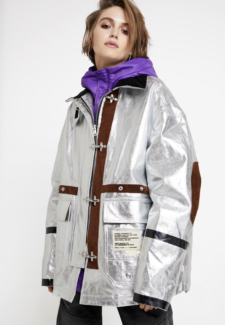 Diesel - W-GELYA GIACCA - Winter coat - silver