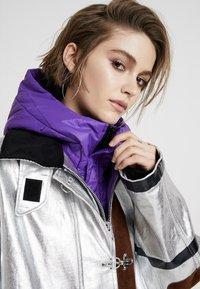 Diesel - W-GELYA GIACCA - Winter coat - silver - 4