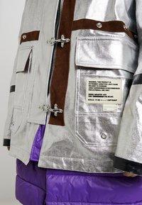 Diesel - W-GELYA GIACCA - Winter coat - silver - 7