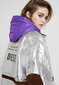 Diesel - W-GELYA GIACCA - Winter coat - silver - 5