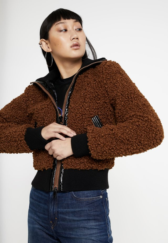 L-TOSHA GIACCA - Winter jacket - brown