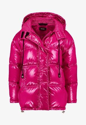 W-ALLA GIACCA - Kabát zprachového peří - pink