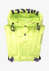 Diesel - C-WODY GILE - Waistcoat - yellow - 8