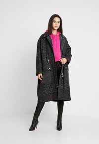 Diesel - G-ROBERT OVERCOAT - Winterjas - black - 1