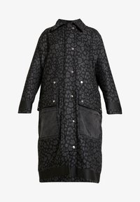 Diesel - G-ROBERT OVERCOAT - Winterjas - black - 6