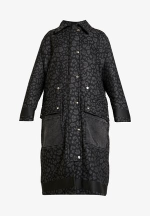 G-ROBERT OVERCOAT - Vinterkappa /-rock - black