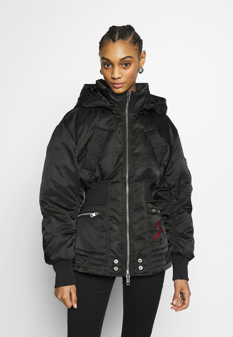 Diesel - Zimní bunda - black