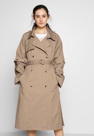 NEW OVERCOAT - Trenchcoat - beige