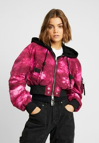 Diesel - G-IKAS JACKET - Light jacket - pink - 0