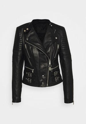 L-IGE-NEW - Leren jas - black
