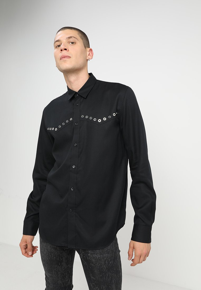 Diesel - S-HIROKI SHIRT - Shirt - schwarz