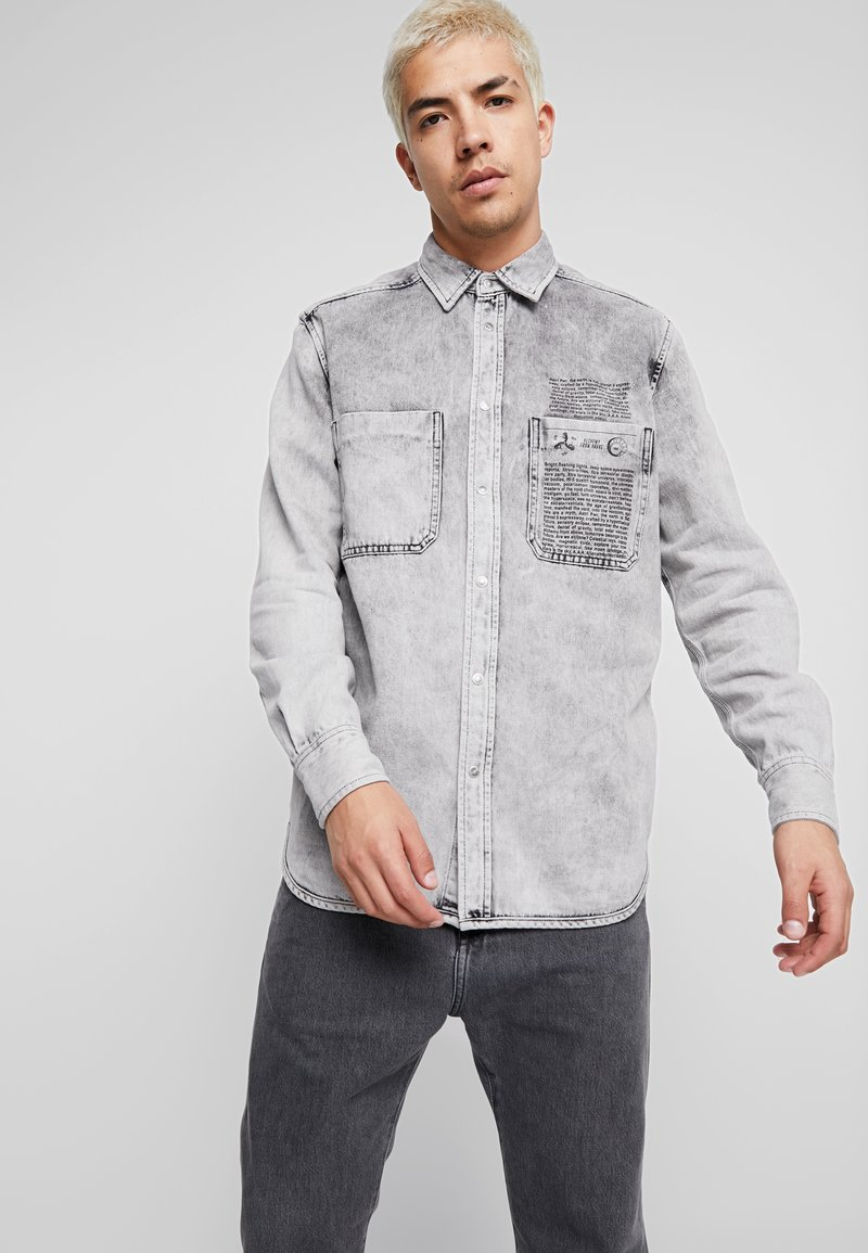 Diesel - D-MILOV SHIRT - Skjorter - grey