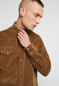 Diesel - S-EAST-LONG-H SHIRT - Shirt - khaki - 4