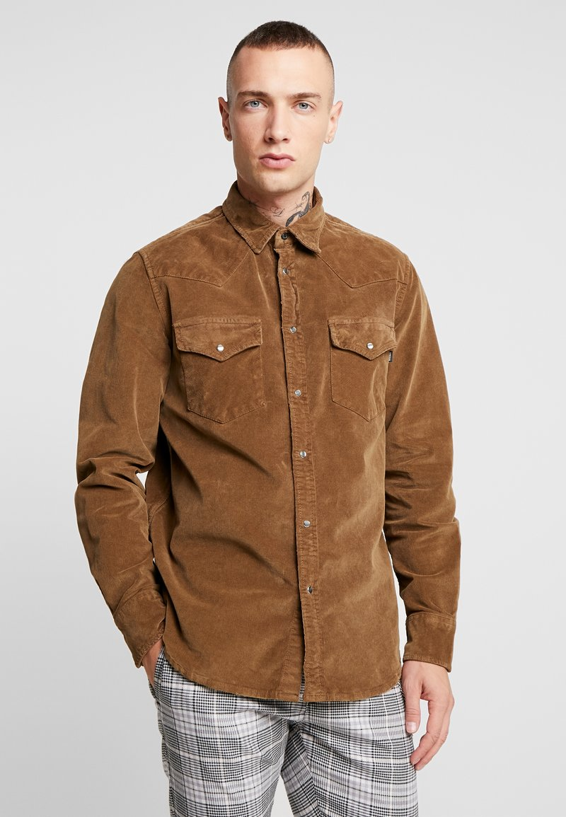 Diesel - S-EAST-LONG-H SHIRT - Shirt - khaki