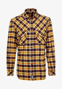 Diesel - S-TOLSTOJ SHIRT - Shirt - mustard/red/grey - 5