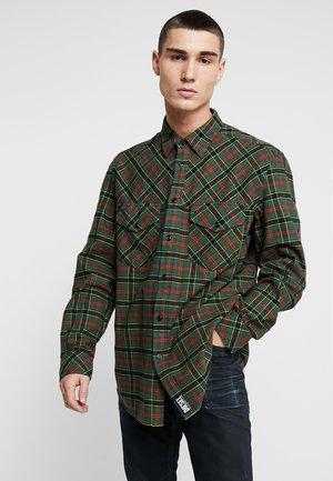 S-TOLSTOJ SHIRT - Overhemd - green