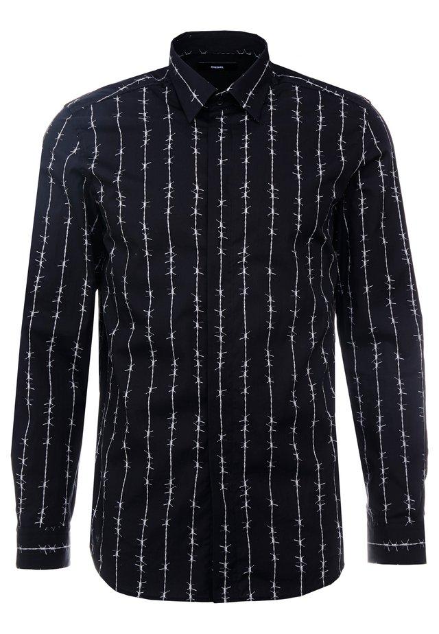 S-BARBWI SHIRT - Overhemd - black