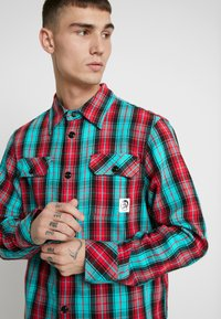 Diesel - GERRY CHECK SHIRT - Shirt - green - 4