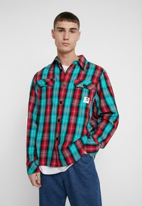 Diesel - GERRY CHECK SHIRT - Shirt - green - 0