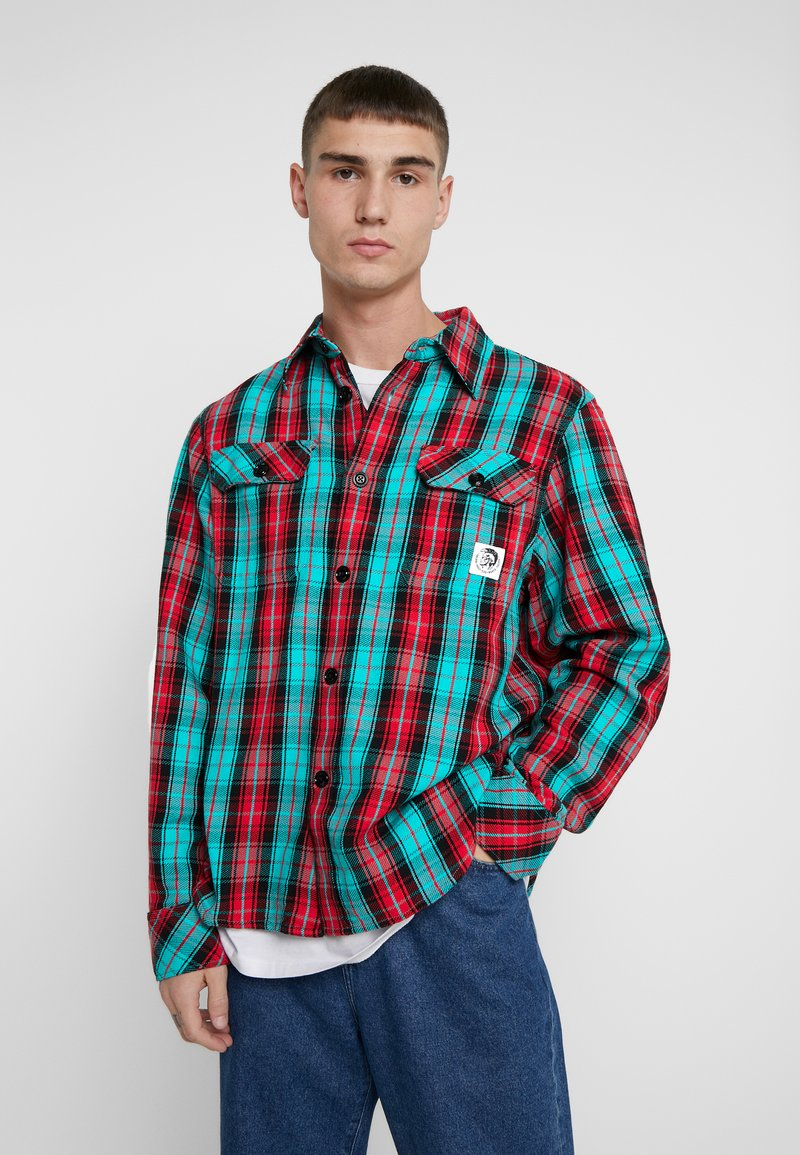 Diesel - GERRY CHECK SHIRT - Shirt - green