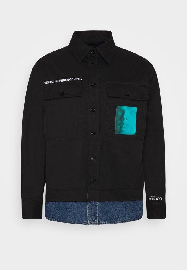 S-DUSTIN  - Overhemd - black