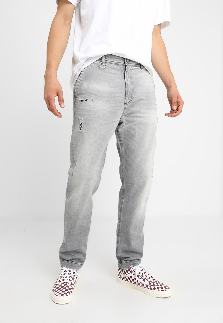 Diesel - P-MADOX-DNM TROUSERS - Relaxed fit jeans - grau
