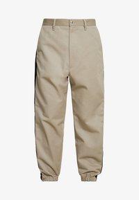 Diesel - P-LEV TROUSERS - Pantalon classique - beige/olive - 4