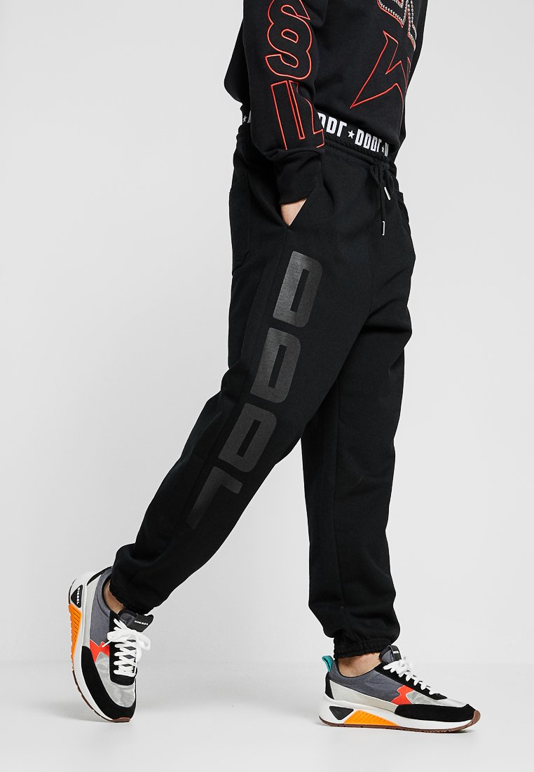 Diesel - P-ALFREDS TROUSERS - Tracksuit bottoms - black