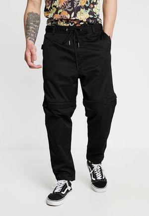 P-CASHORT TROUSERS - Pantalon classique - black