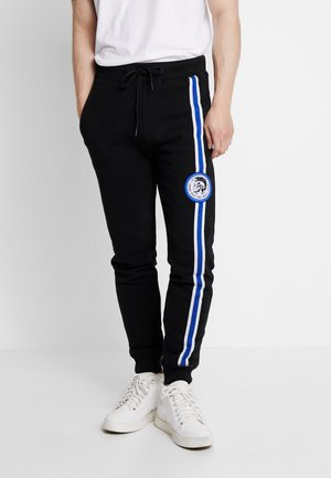 BMOWT-PETER - Tracksuit bottoms - black
