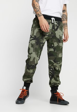 PETER - Tracksuit bottoms - olive